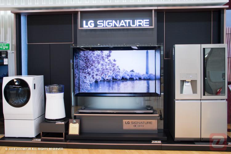 محصولات لوکس ال جی در حال ورود به بازار جهانی