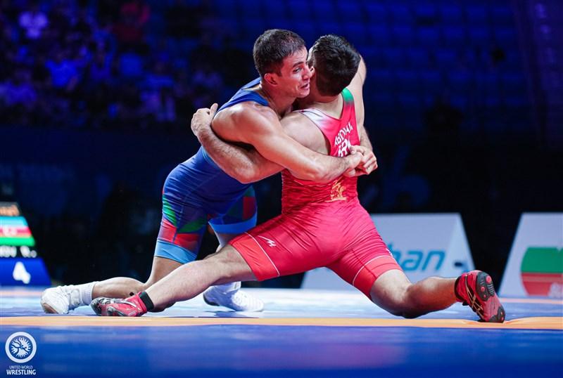 شکست حامد تاب مقابل قهرمان المپیک
