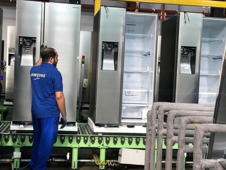 تولید 512 هزار دستگاه یخچال فریزر در شش ماه نخست سال