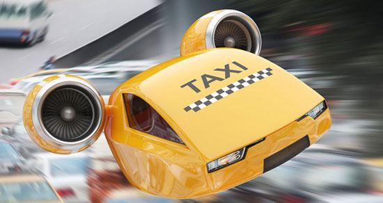 تاکسی های پرنده تا ده سال دیگر