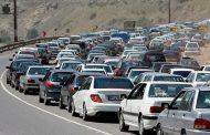 ترافیک در جاده های مازندران قبل از تحویل سال