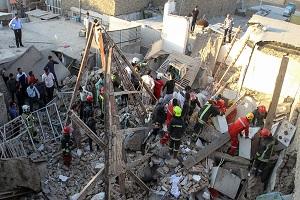 11 کشته در انفجار آبگرمکن در مشهد+تصاویر