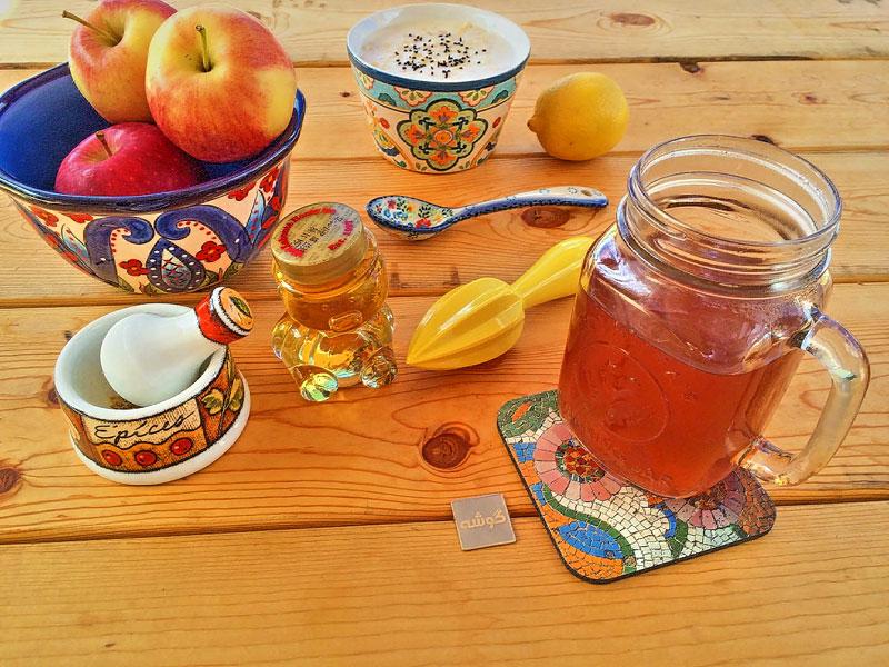 نوشیدنی های شگفت انگیز برای درمان سرماخوردگی!