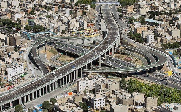 مسدود شدن بزرگراه امام علی