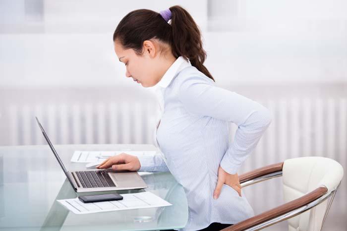 6دلیل شایع کمر درد را بشناسید