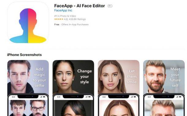 امنیت آپلود عکس دربرنامه محبوب Face App