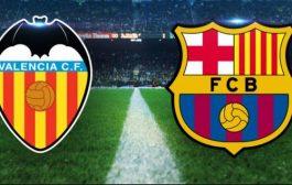 دیدار بارسلونا و والنسیا