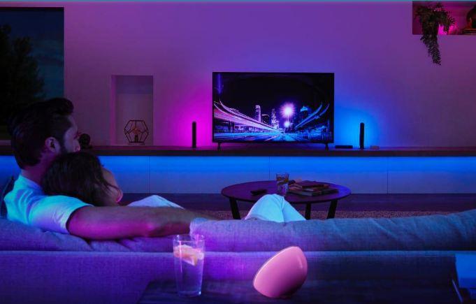 نورپردازی Ambilight با تلویزیون فیلیپس