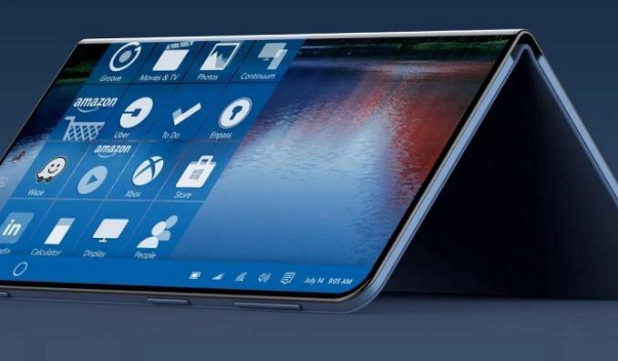 گوشی هوشمند تاشو مایکروسافت با سیستم عامل Windows Core OS