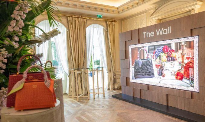 تلویزیون Wall سامسونگ در هفته مد پاریس نسخه لاکچری خود را رونمایی کرد