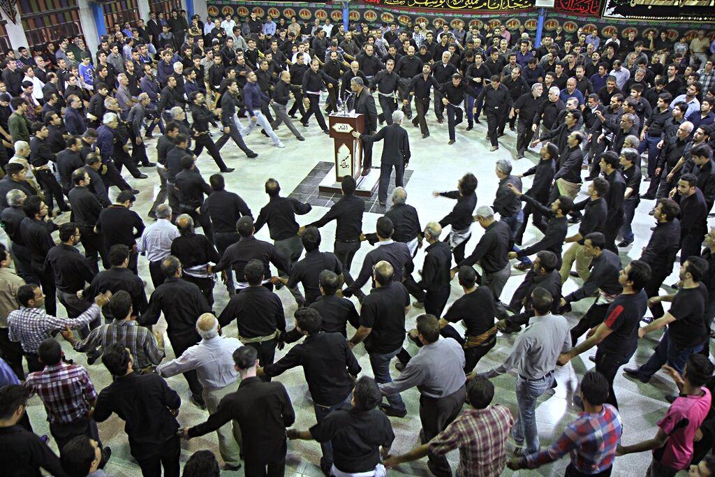 مراسم عزاداری در بوشهر