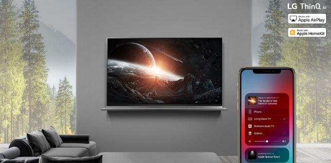 همکاری جدید شرکت ال جی و اپل
