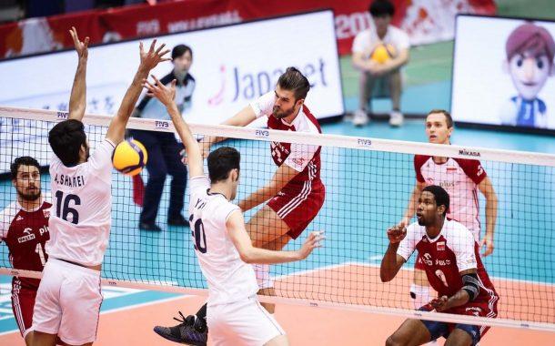 آخرین بازی والیبال ایران مقابل لهستان
