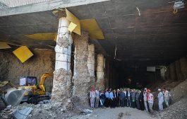 بازدید شهردار تهران از پروژههای زیرگذر پل گیشا و استاد معین