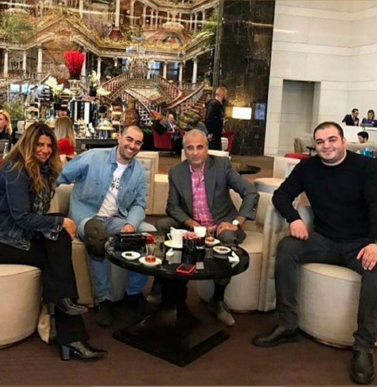 ظاهر جدید شهاب حسینی در ترکیه
