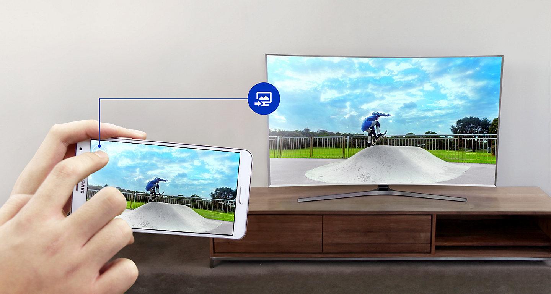 آموزش اتصال موبایل سامسونگ به تلویزیونهای QLED