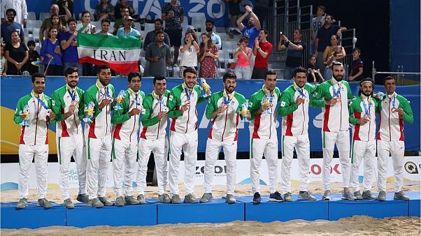 ایران؛قهرمان فوتبال ساحلی بین قاره ای
