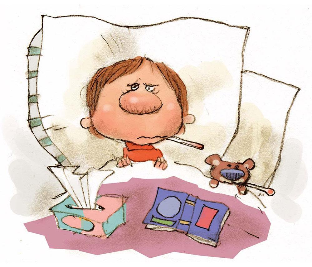 آنفولانزا را با سرما خوردگی اشتباه نگیرید!