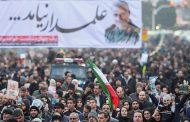 انتقام سخت ؛لشکر میلیونی تهران در مراسم تشیع سردار دلها
