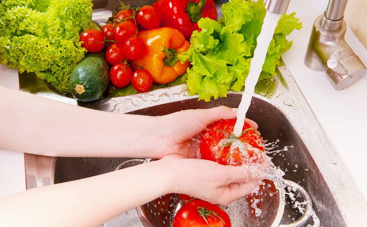 ضد عفونی کردن مواد غذایی