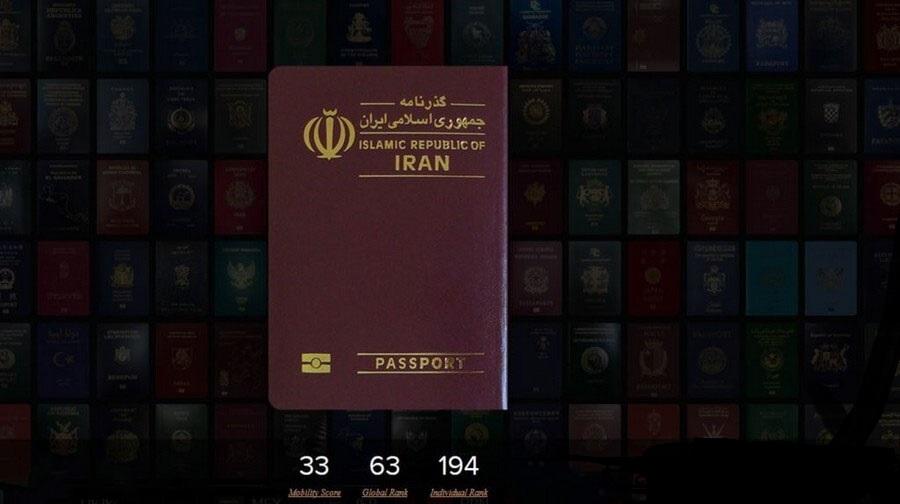 سقوط گذرنامه ایرانی به جایگاه پنجمین گذرنامه کم اعتبار جهان