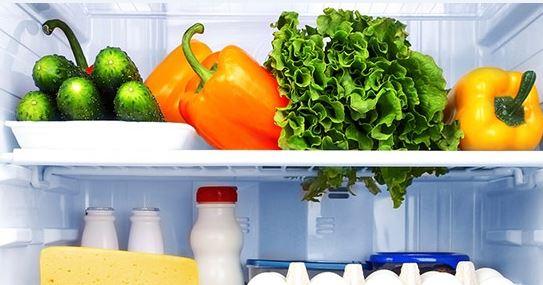 خروج مواد غذایی از یخچال