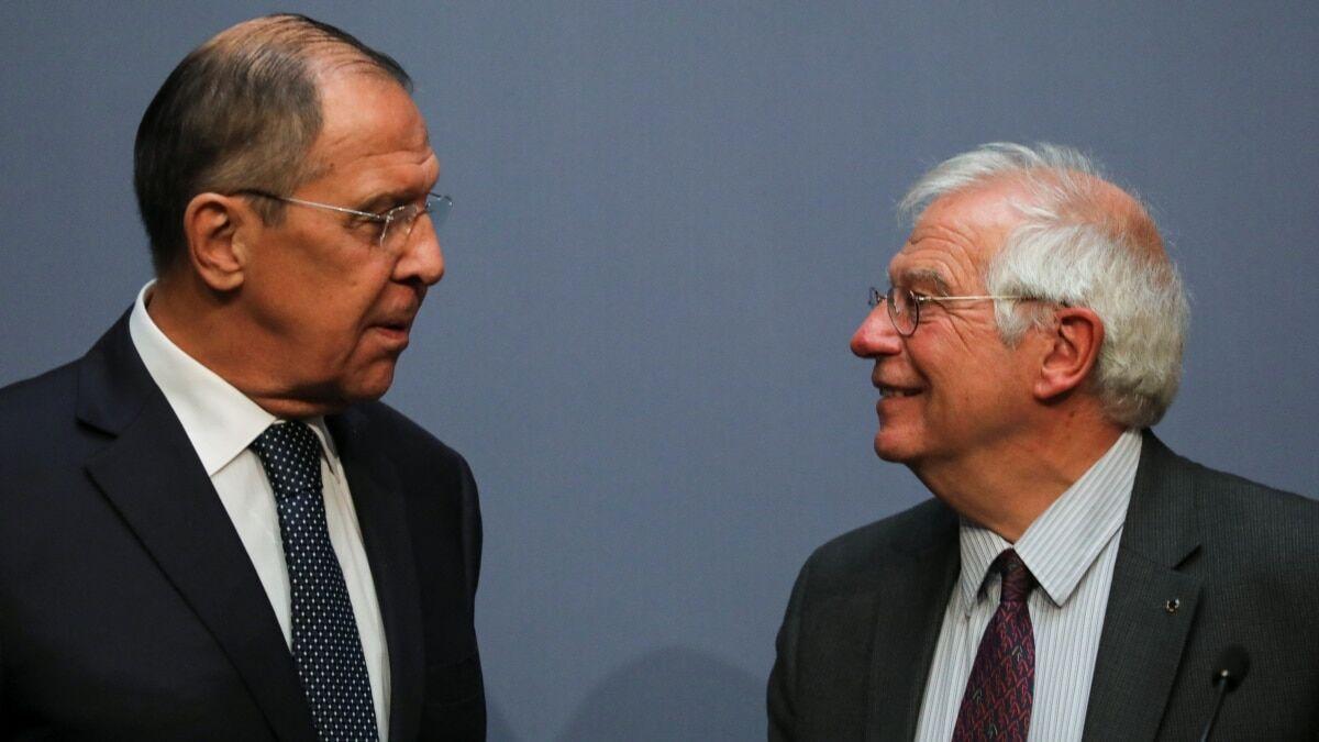 روسیه با اروپا