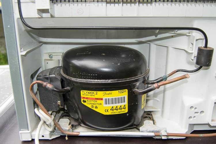 علائم سوختن موتور یخچال